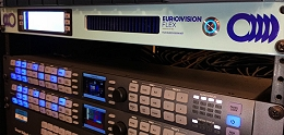 Live IP transmissions using Eurovision Flex.