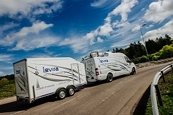 Levira has Outside Broadcast (OB) vehicles to cover Estonia, Lativa, Lithuania, Finland and Denmark.
