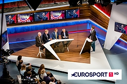 MX1 to handle satellite transmission of of Eurosport 1 HD.