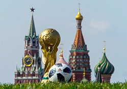 Eutelsat provides satellite capacity at the FIFA World Cup in Russia.