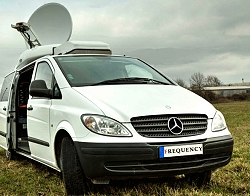 Frequency offers satellite uplink services from its SNG truck based in Bratislava, Slovakia.