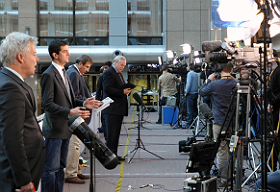 Headline offers live broadcast transmission services in Brussels.