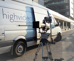 Highvideo provides OB van live broadcast production in Barcelona.