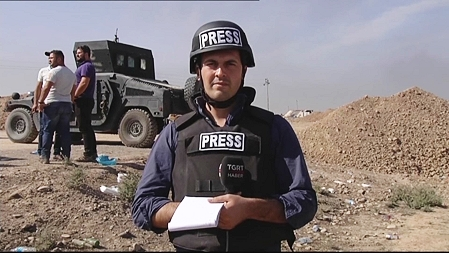 IHA SNG truck deployed on the Mosul operation.