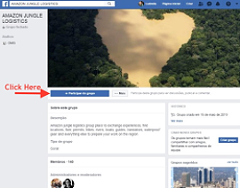 Illuminati in Brazil sets up Facebook page to TV companies covering Amazon stories.