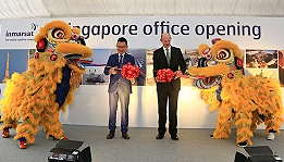 Opening of Inmarsat's new office in Singapore