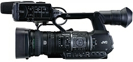 JVC GY-HM660 mobile news camera