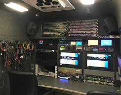 For sale: SNG satellite uplink truck from Links Broadcast.