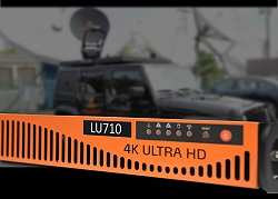 LiveU LU710 video encoder to transform SNG trucks into hybrid satellite/cellular vehicles.