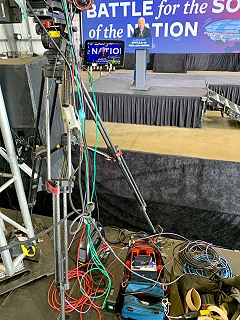 Record usage of LiveU video streaming and remote production at US elections.