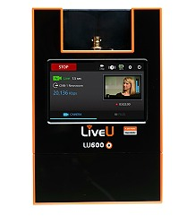 LiveU LU600 IP video transmission unit.