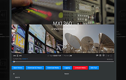 MX1 showcases its MX1 360 solution at IBC in Amsterdam.