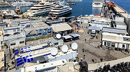 EUROMEDIA deploys two UHD OB vans for the Monaco Grand Prix.