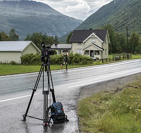 LiveU video transmission solution used for Norseman Xtreme Triathlon.