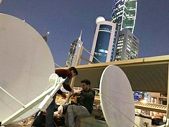 New TR provides SNG satellite transmission and production services in Kuwait.