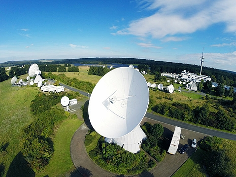 MEDIA BROADCAST's teleport at Usingen in Germany.