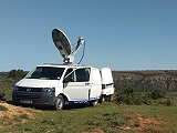 Purple Turtle supplies SNG satellite uplink trucks in South Africa