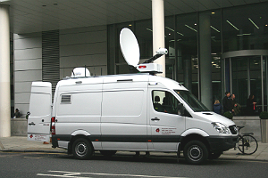 SIS LIVE: first Ka-band SNG uplink truck for ITV/ITN