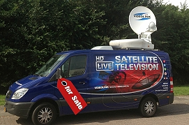 Videolink is selling a SNG satellite uplink truck in Holland.
