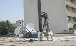 Shiva Rasaneh offers SNG satellite uplink facilities in Tehran, Iran.