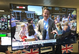 Sky News uses LiveU for Royal Wedding video coverage and transmission.
