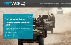 TRT World to launch its English news service in 2015