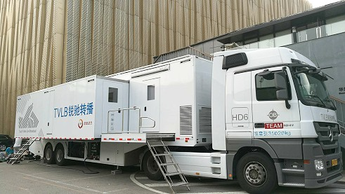 4k/UHD OB van production in Beijing and China.