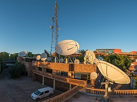 Telemedia offers teleport and SNG satellite trucks in South Africa.