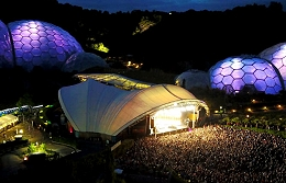 Trickbox TV supplied outside broadcast (OB) services to the Eden Sessions.