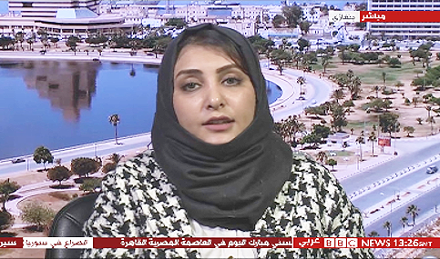 Libya: live TV broadcast studio production and transmission in Tripoli and Benghazi.
