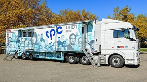 World's first all-IP Outside Broadcast (OB) truck from tpc.