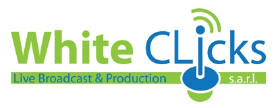 Logo of White Clicks Live Broadcast and Production in Beirut, Lebanon