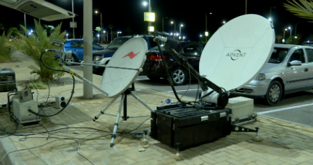 Uni Broadcast Cairo Sng Satellite Trucks For Rental